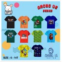 KAOS AMONG US JUNIOR SIZE 6-14Y  BY LITTLE RABBIT